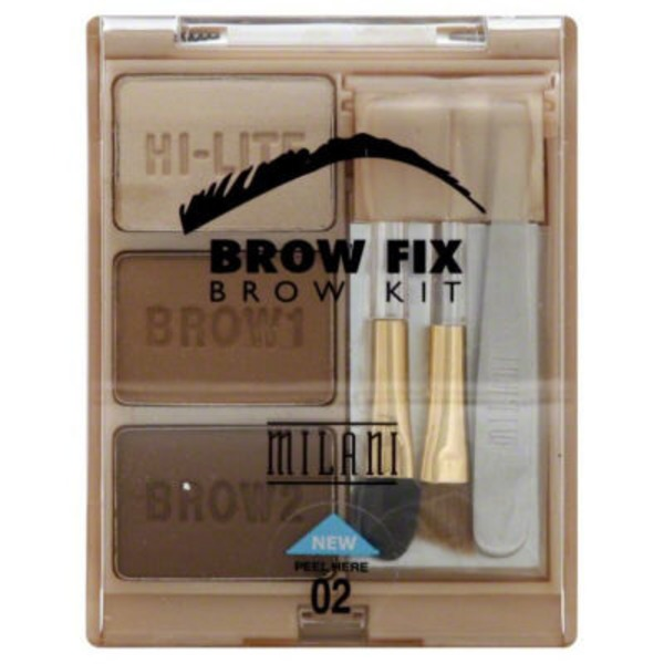 Milani Brow Shaping Kit Medium 02