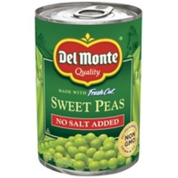 Del Monte Fresh Cut No Salt Added Sweet Peas