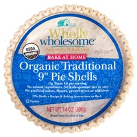 Wholly Wholesome Organic Traditional Pie Shells, 9