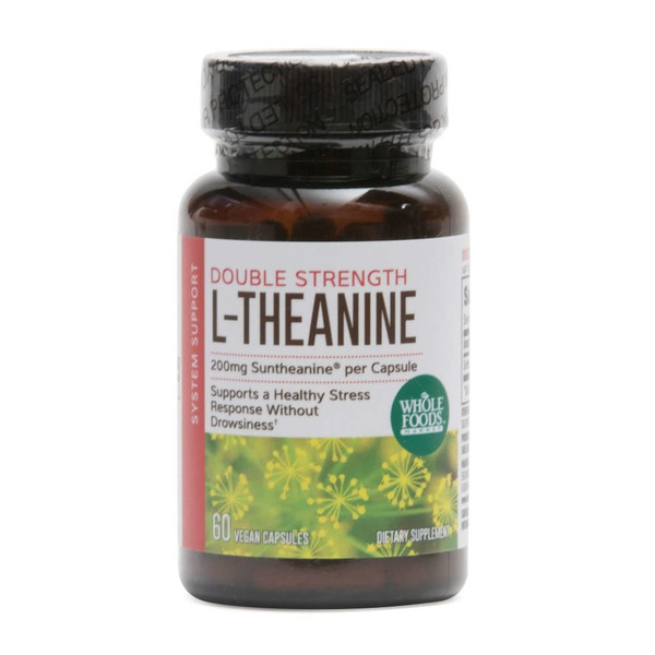 Whole Foods Whole Foods Market L-Theanine 200 Milligram