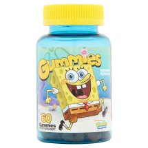 Nickelodeon Spongebob Multivitamin Multimineral Gummies, 60 count