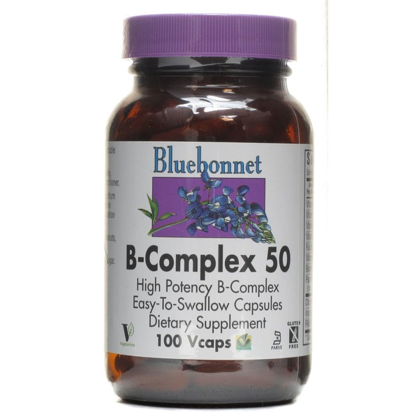 Bluebonnet Nutrition B Complex 50 High Potency