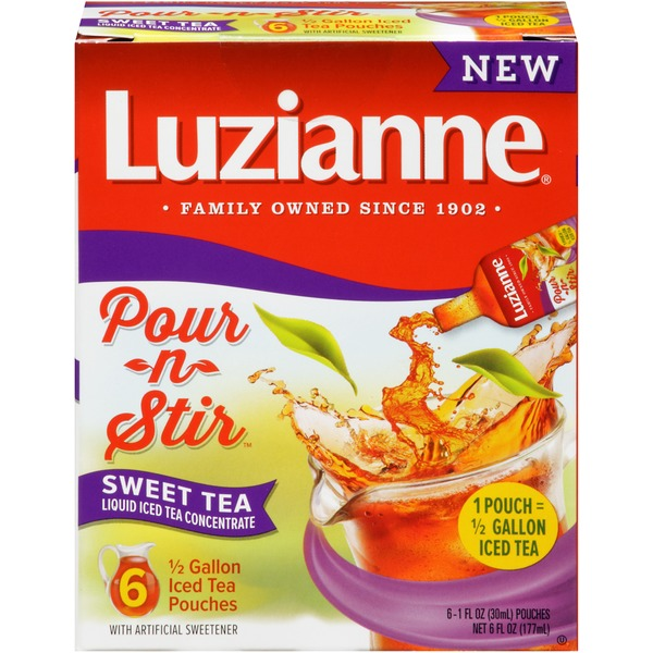 Luzianne Pour-n-Stir Sweet Tea Liquid Iced Tea Concentrate