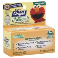 Orajel Naturals Homeopathic Baby Teething Pain Relief