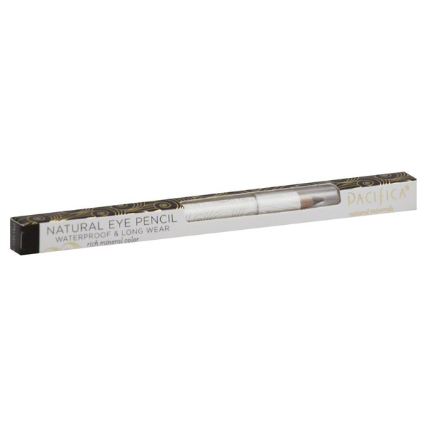 Pacifica Natural Eye Pencil Waterproof/Long Wear, Box