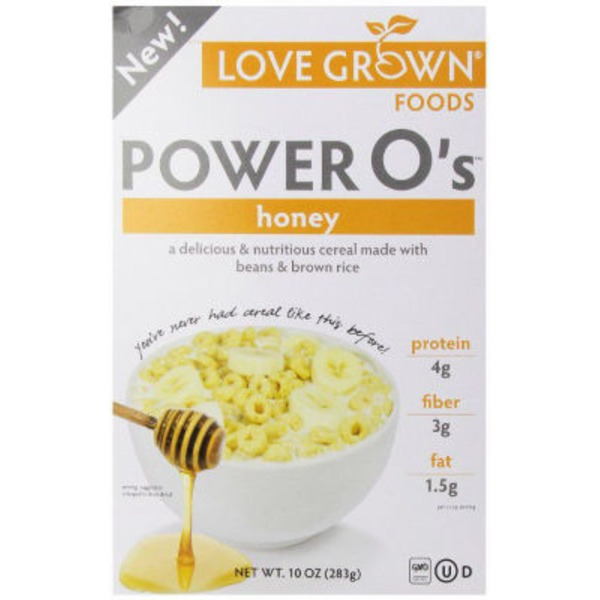 Love Grown Foods Honey Power O's