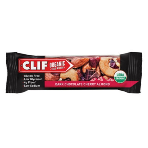 Clif Organic Trail Mix Dark Chocolate Cherry Almond Organic Trail Mix Bar
