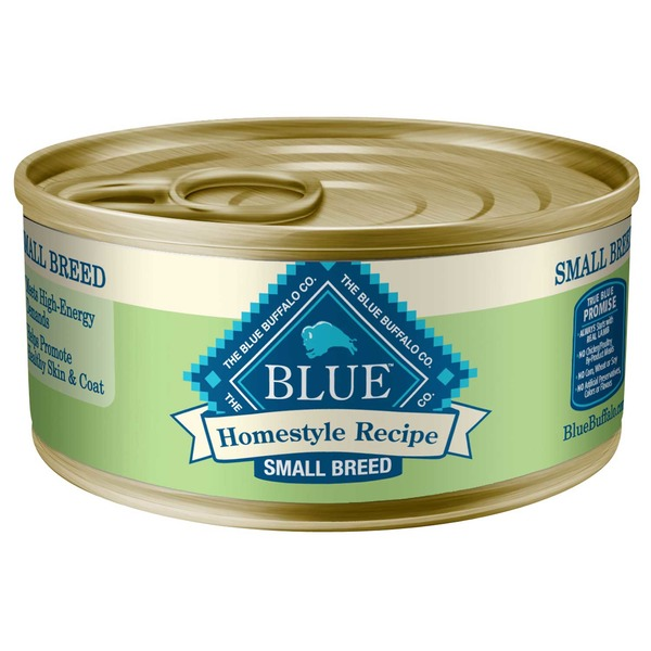 Blue Buffalo Moist Dog Food Homestyle Recipe Small Breed