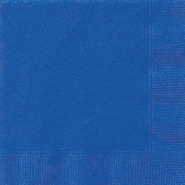 Unique Royal Blue Lunch Napkin