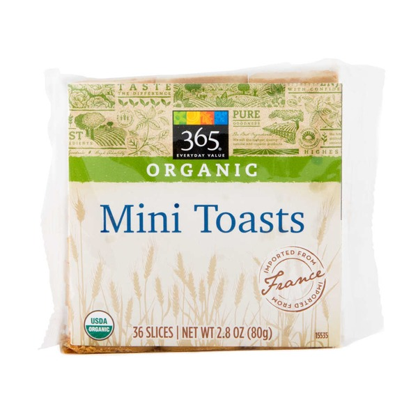 365 Organic Mini Toasts
