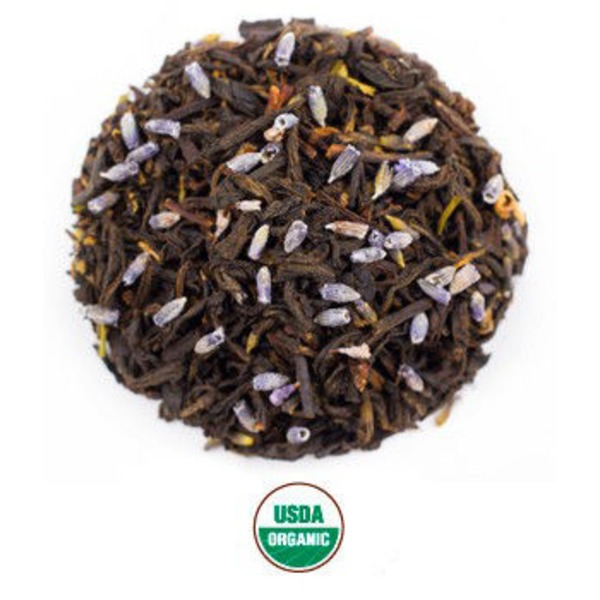 Rishi Tea Organic Earl Grey Lavender Loose Leaf Tea