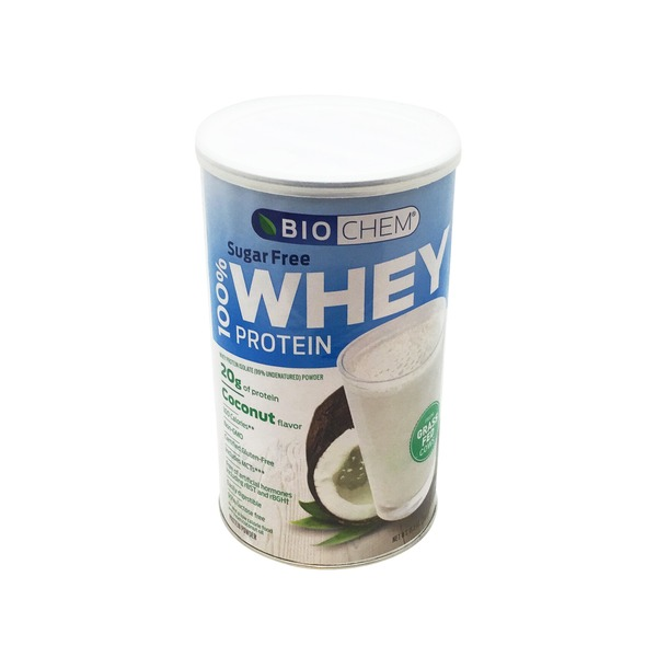 Biochem 100% Sugar Free Coconut Whey Protein
