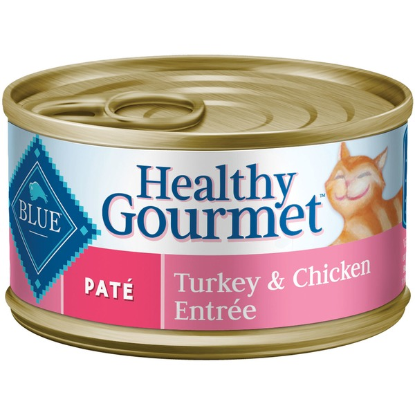 Blue Buffalo Food for Cats, Natural, Pate, Turkey & Chicken Entree