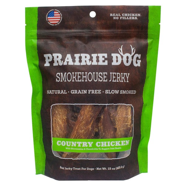 Nature's Miracle Country Chicken Smokehouse Jerky Dog Treats
