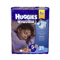 Huggies Overnites Size 5 Diapers