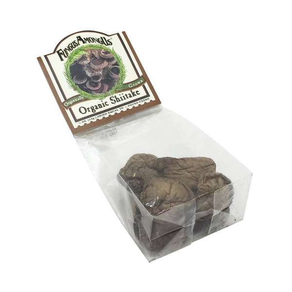 Fungus Among Us Organic Dried Shiitake Mushrooms