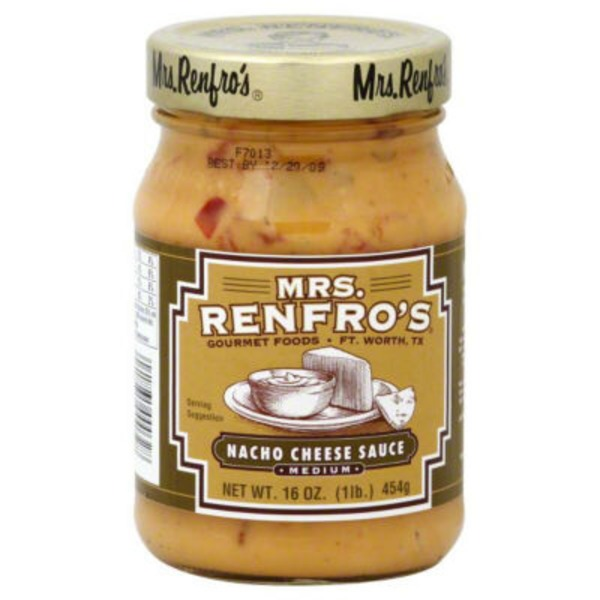 Mrs. Renfro's Medium Nacho Cheese Dip