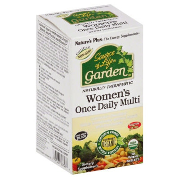Nature's Plus Garden Women Once Daily Multi Vitamin