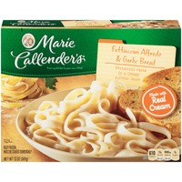 Marie Callender's and Garlic Bread Fettuccini Alfredo