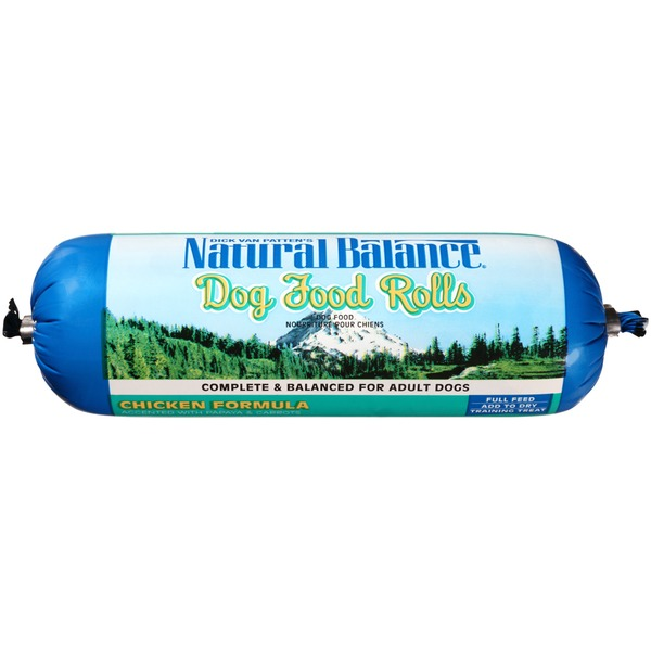 Natural Balance Chicken Formula Rolls Dog Food