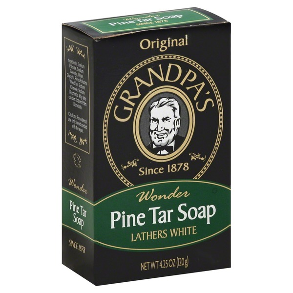 Grandpa's Original Wonder Pine Tar Soap