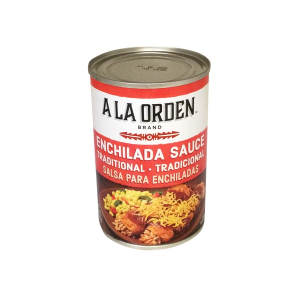 A LA Orden Enchilada Sauce Traditional