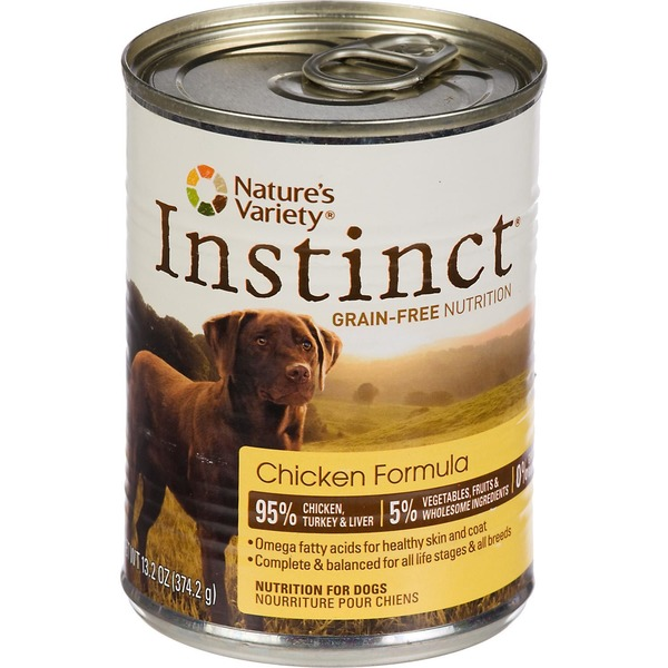 Nature's Variety Instinct Chicken Formula Dog Food