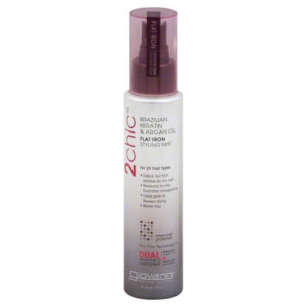 Giovanni Brazilian Keratin & Argan Oil Flat Iron Styling Mist