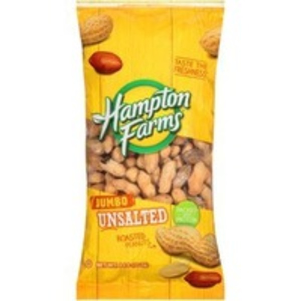 Hampton Farms Premier Roasted Unsalted Jumbo Peanuts