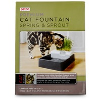 Petco Premium Cat Fountain Spring & Sprout