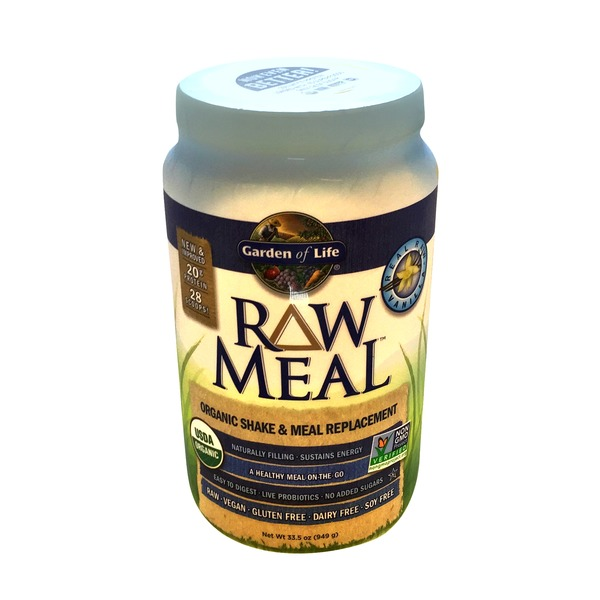 Garden of Life Raw Meal Organic Shake & Meal Replacement