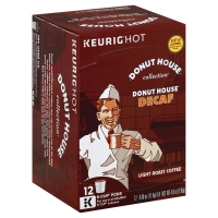 Green Mountain Coffee K-Cup Pods Light Roast Donut House Collection Decaffeinated