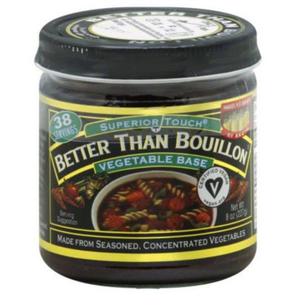 Better Than Bouillon Superior Touch Better Than Bouillon Vegetable Base