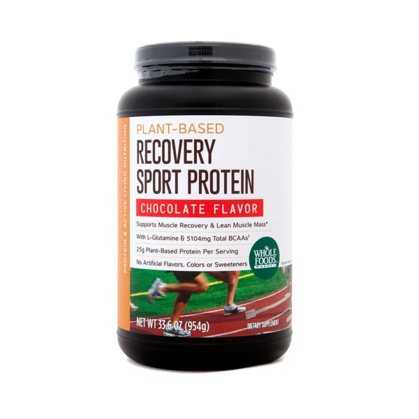 Whole Foods Market Plant-Based Recovery Chocolate Sport Protein Chocolate Flavor