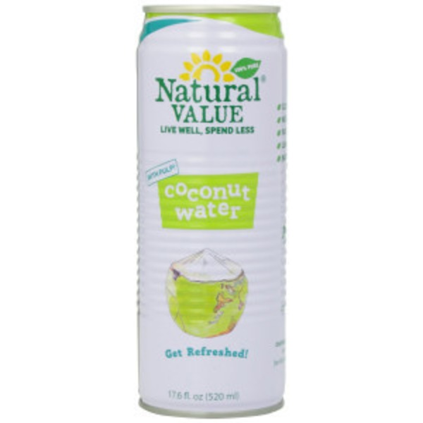 Natural Value Organic Coconut Water