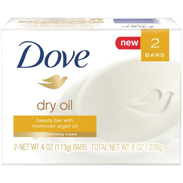 Dove Dry Oil  Beauty Bar