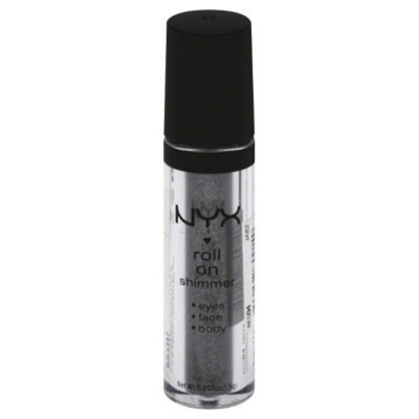 NYX Roll On Shimmer, Eye Shadow, Onyx RES04