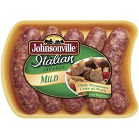 Johnsonville Mild (101301, 101346, 101353) Holiday Promo Italian Sausage