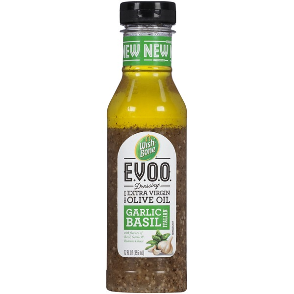 Wish-Bone E.V.O.O. Garlic Basil Italian Dressing