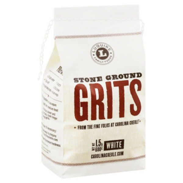 Luquire Family Foods Grits, Stone Ground
