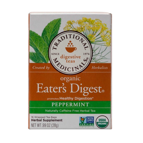 Traditional Medicinals Organic Eater's Digest, Peppermint
