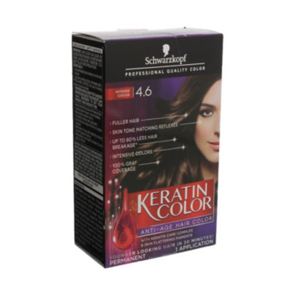 Keratin Color Anti-Age 4.6 Intense Cocoa Hair Color