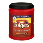 Folgers Ground Coffee Classic Roast Medium, 11.3 OZ