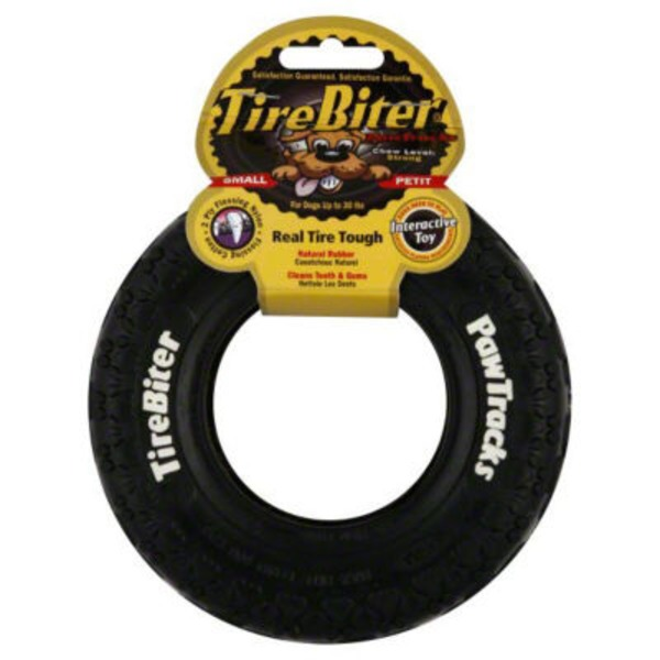 Tire Biter Small Paw Tracks Dog Toy