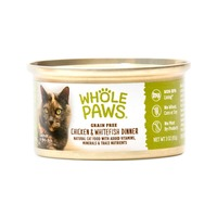 Whole Paws Grain Free Chicken and Whitefish Dinner Cat Food