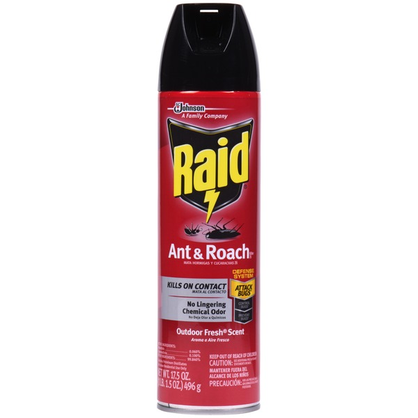 Raid Ant & Roach Killer Fresh Scent Insecticide