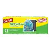 Glad Recycling Large Trash Bags 30 Gal. - 28 CT