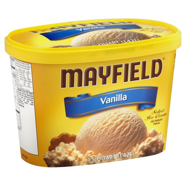 Mayfield Select Vanilla Ice Cream Tub