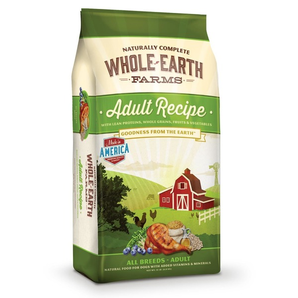 Whole Earth Farms Adult Recipe Dog Food