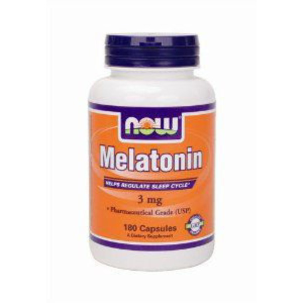 Now Melatonin 3mg Helps Regulate Sleep Cycle